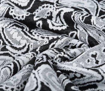 Jacquard gebreid Oriental Zwart Wit