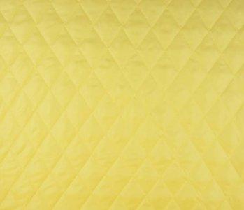 Steppfutter Wattiert Gelb