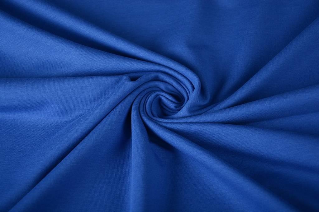 French Terry Kobalt Blau
