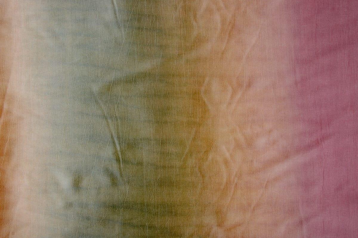 Crinkle Taft Mix Kaki Oud Roze