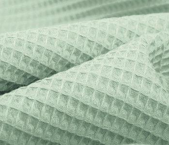 Oeko-Tex®  WaffelStoff Alt mint