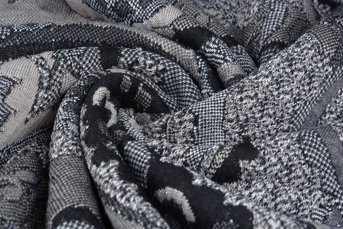 Jacquard gestrickt Orient Grau