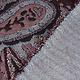 Jacquard gestrickt Orient Bordeaux