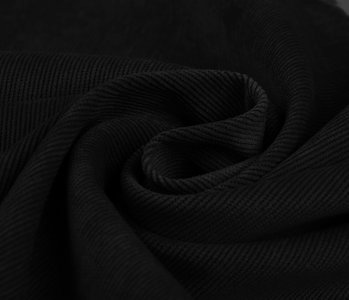 16 W Corduroy Black