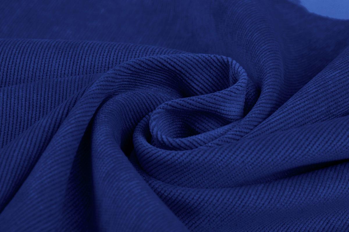 16 W Corduroy Kobalt Blauw