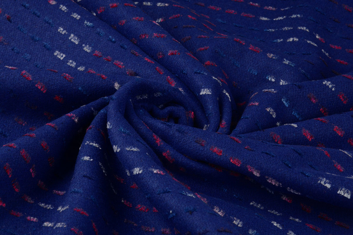 Wollook Mexicano Kobalt Blauw