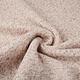 Gebreide Wollen stof Lanoso Bruin Beige