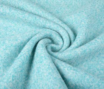 Gebreide Wollen stof Lanoso Aqua