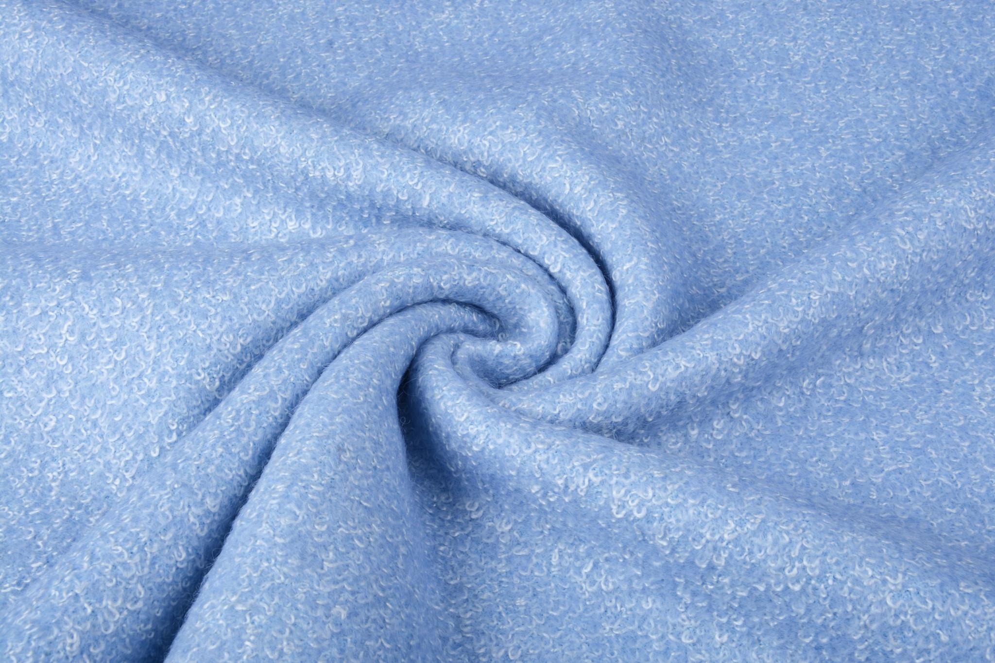 Knitted Woolen fabric Lanoso Light Lavendel