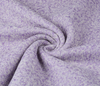 Gebreide Wollen stof Lanoso Lila