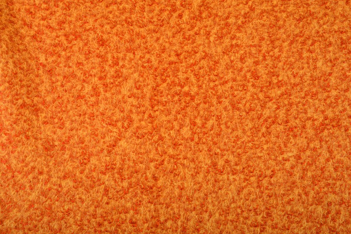 Gestrickter WollStoff Lana Orange