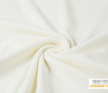 Oeko-Tex®  Stretch Frottee Creme