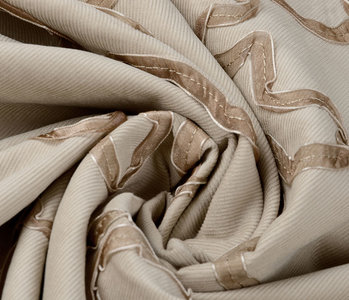 21 W Cotton Corduroy Rib Ribbon Light Sand