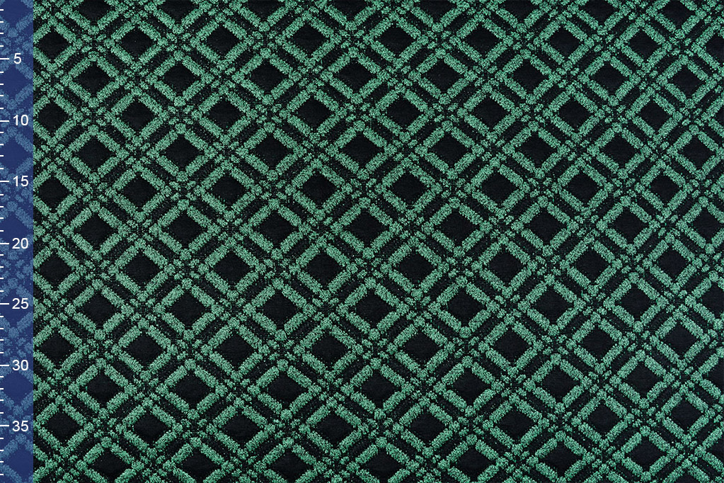 Jacquard Knitted Diade Green