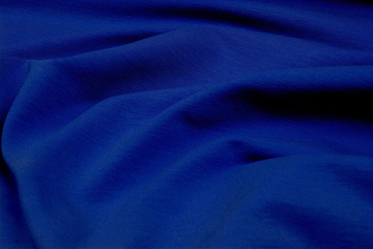 Oeko-Tex®  French Terry Konings blauw