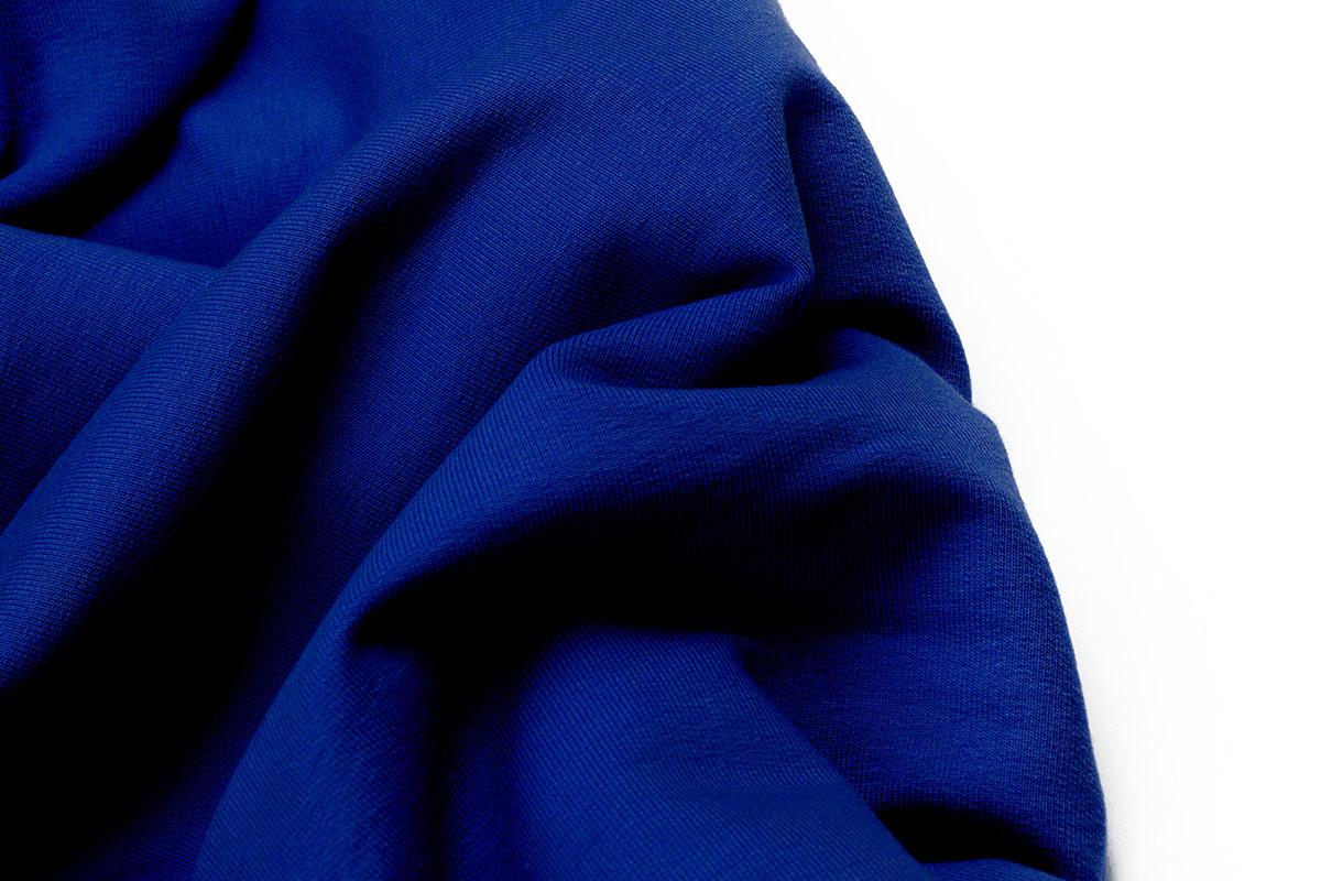 Oeko-Tex®  French Terry Königs Blau
