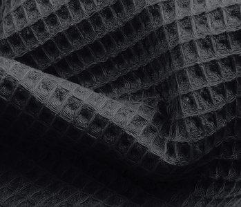 Oeko-Tex®  Waffle pique Dark grey