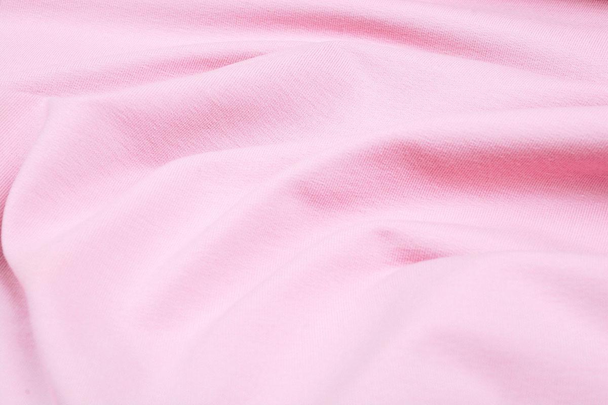 Oeko-Tex®  French Terry Licht Roze