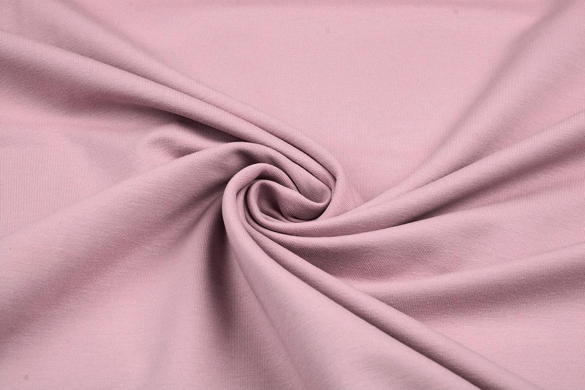Oeko-Tex®  French Terry Poeder rosa