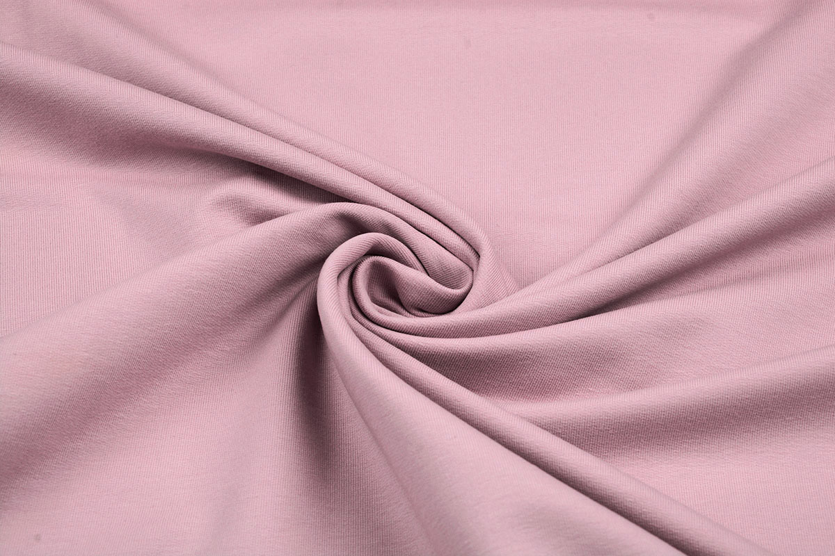 Oeko-Tex®  French Terry Poeder roze