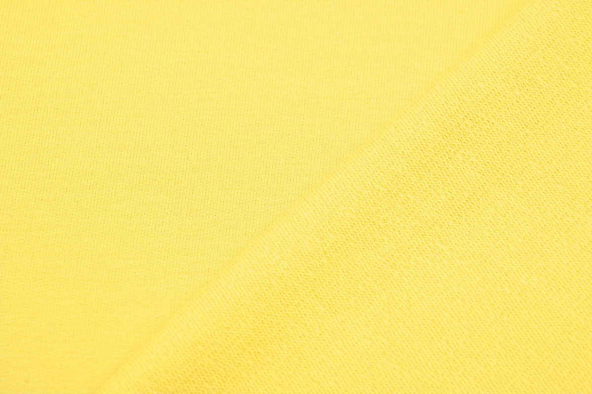 Oeko-Tex®  French Terry Kanarie geel