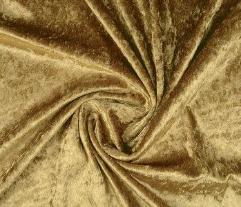 Velours de Panne Donker goud