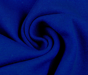 Strickbündchen Kobalt Blau