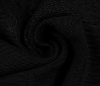 Strickbündchen Schwarz