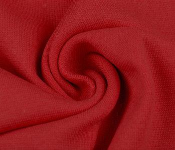 Strickbündchen Rot