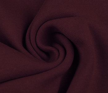 Cuff fabric Dark red