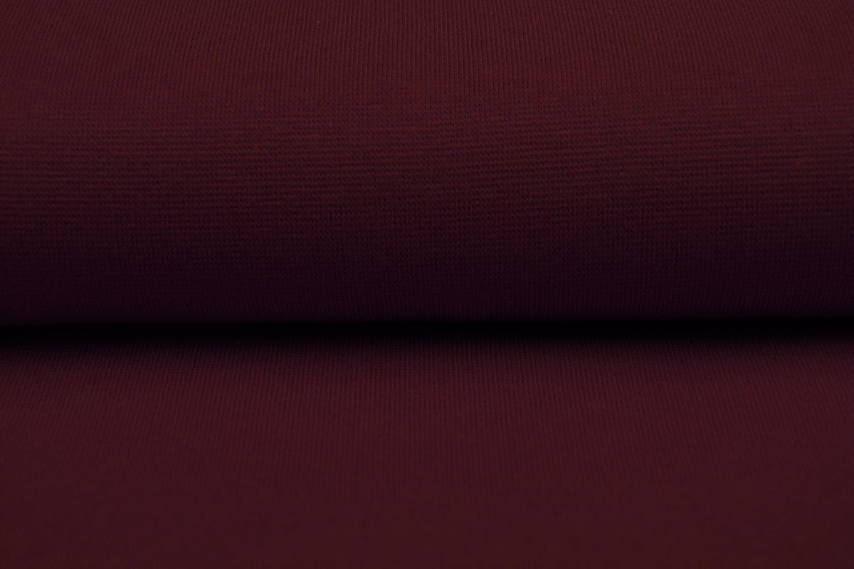 Boordstof Donker rood