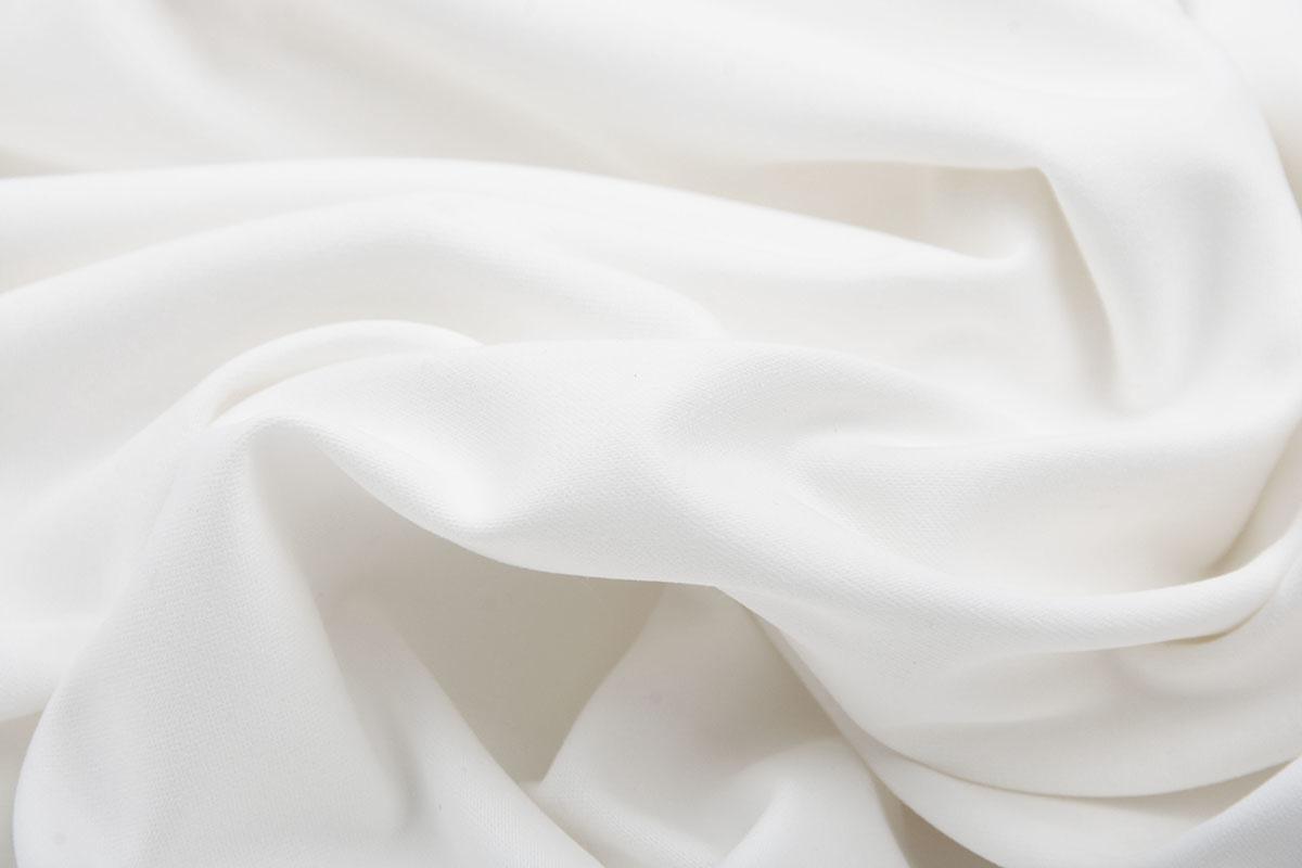 Katoen Ongebleekt Satijnbinding Off White