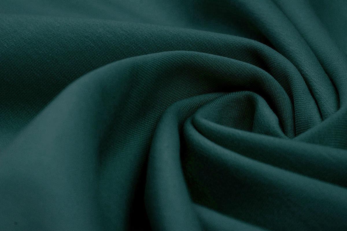 Oeko-Tex®  French Terry Dunkel-Limettengrün