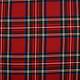Schottenkaro groß Stretch Röt