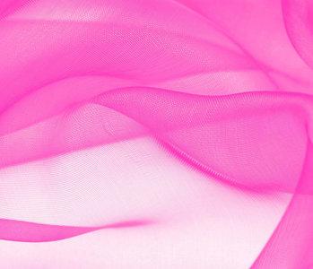 Organza Stoff Rosa