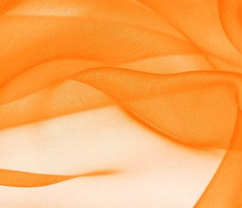 Organza Stoff Orange