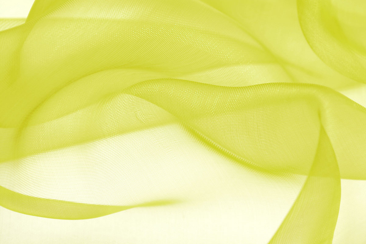 Organza Donker lime