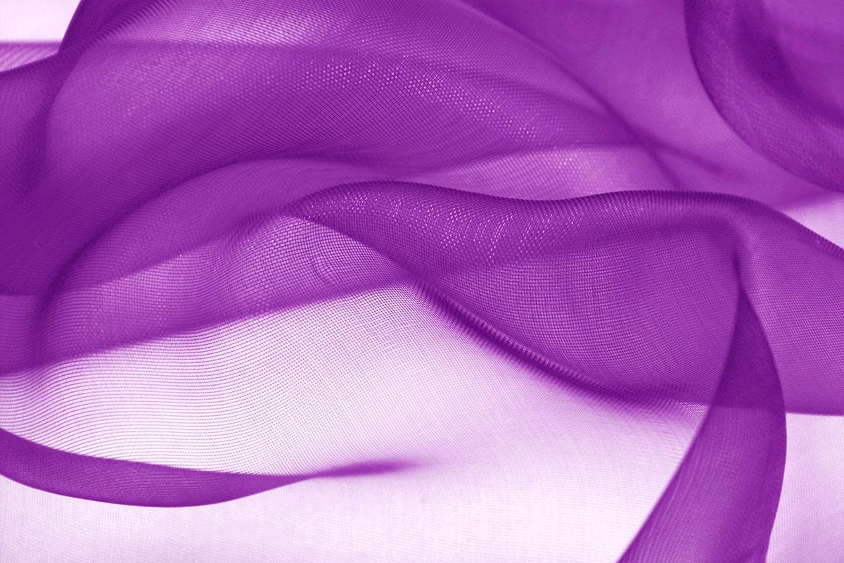 Organza Stoff Lavendel