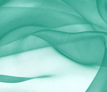 Organza Stoff Grün