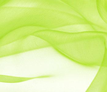 Organza Stoff Lime
