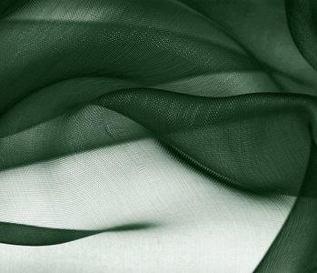 Organza Dark Green