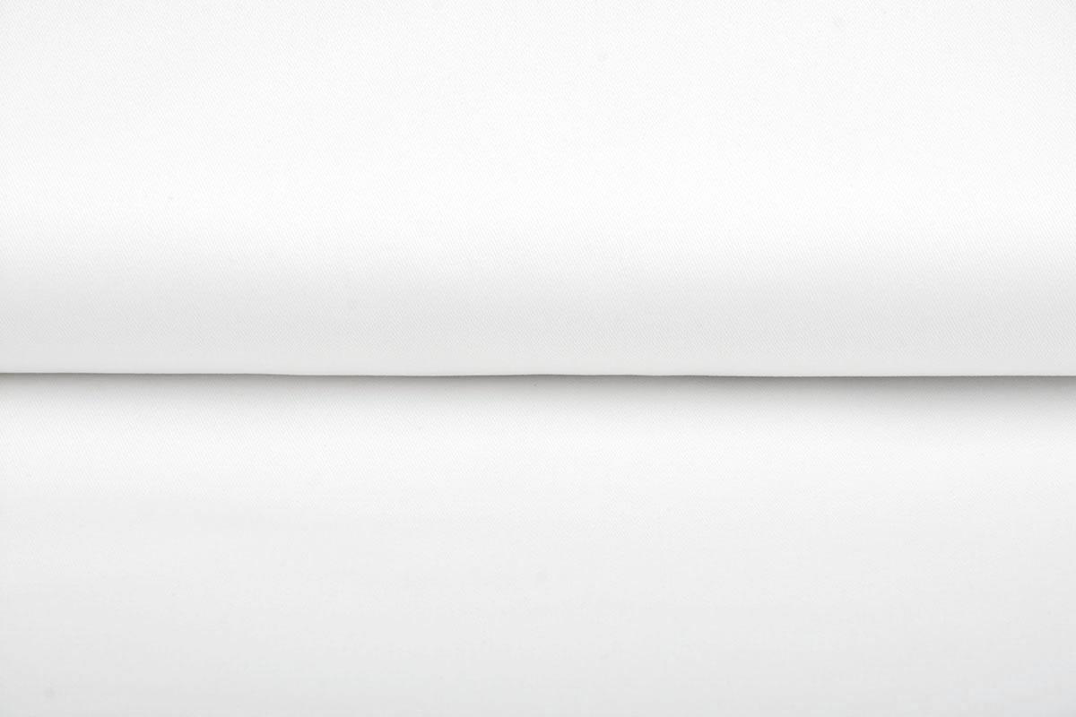 Polyester Ungebleicht Weiß