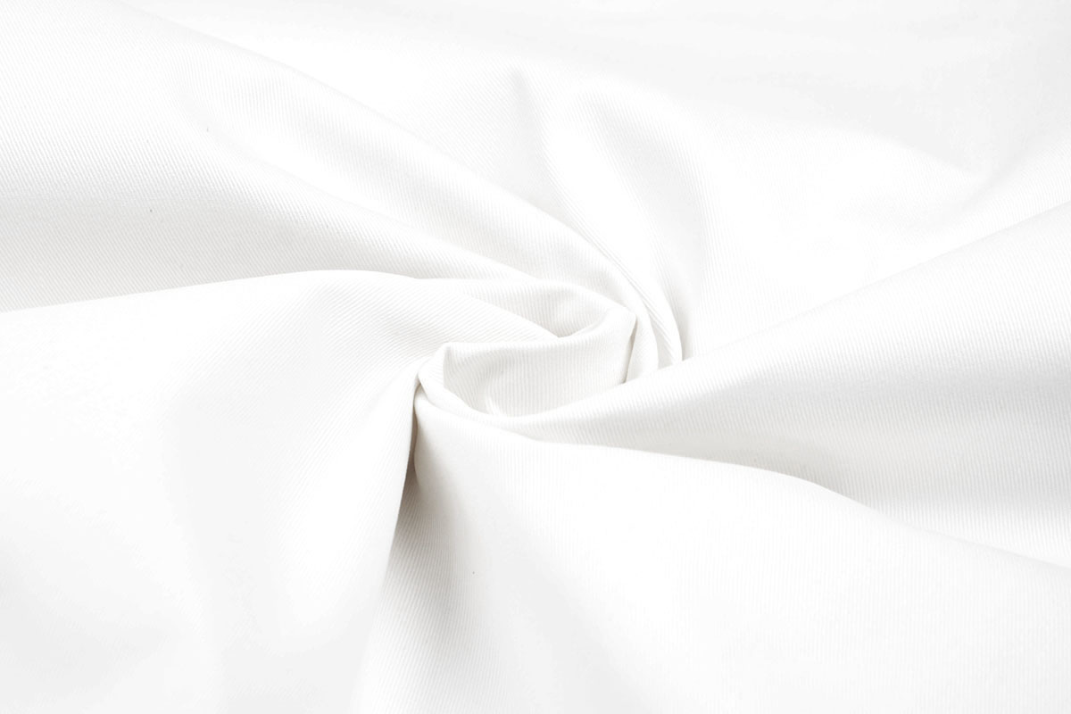 Polyester Unbleached White