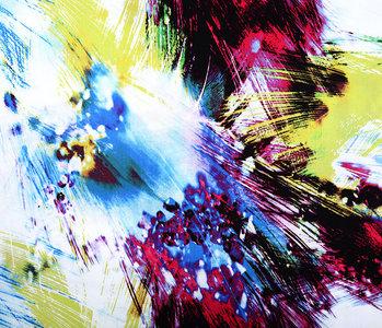 100% Viscose Digital Printed Arti Lime