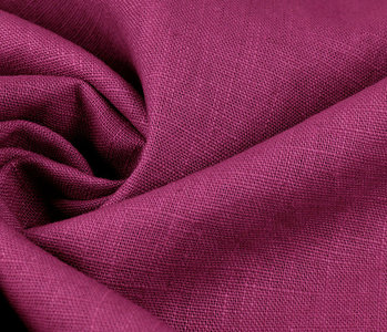 Washed Linen Fuchsia
