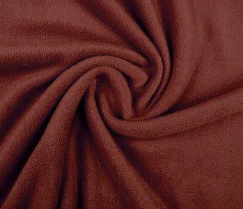 Polar Fleece Roest brique