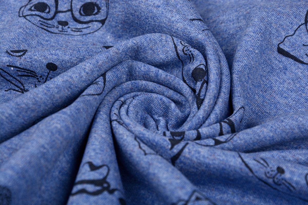 Mi & Joe Mi & Joe Cotton Jersey Poes Donker jeans melange