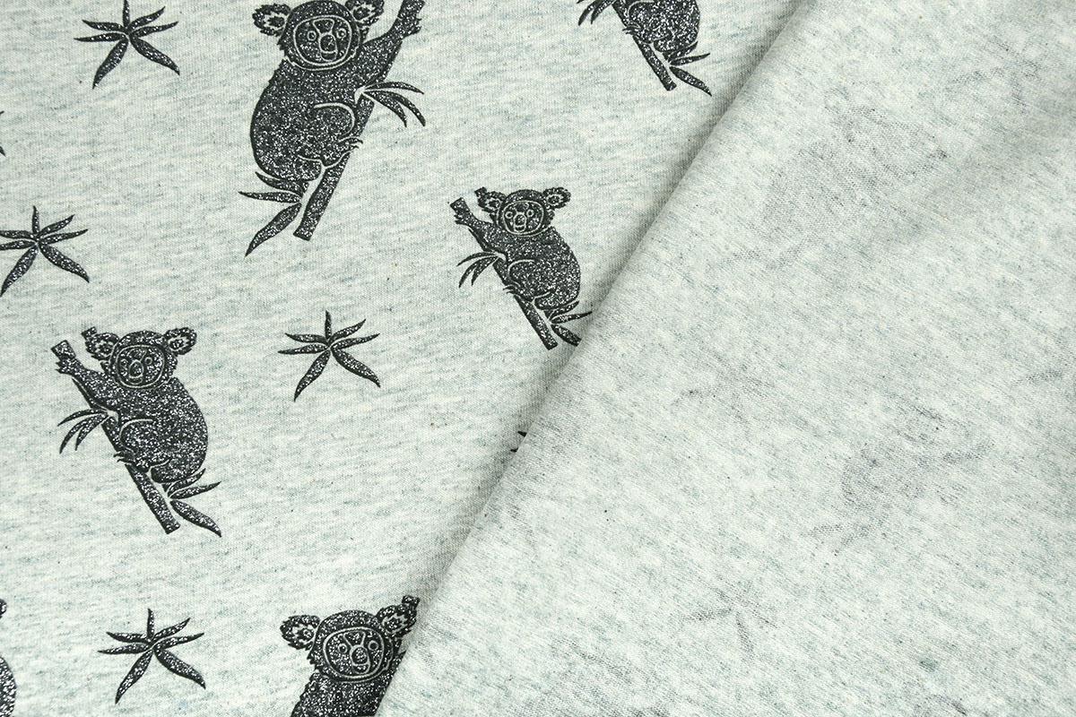 Mi & Joe Mi & Joe Cotton Jersey Koala Pistache melange