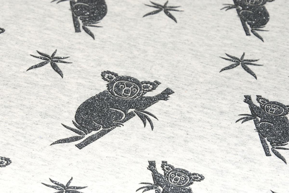 Mi & Joe Mi & Joe Cotton Jersey Koala Creme Melange