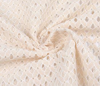 Lace whiti Creme